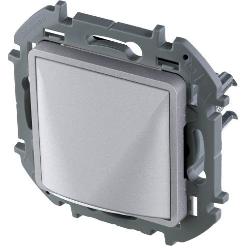 Вывод кабеля с зажимом для крепления алюминий Legrand Inspiria (673892)