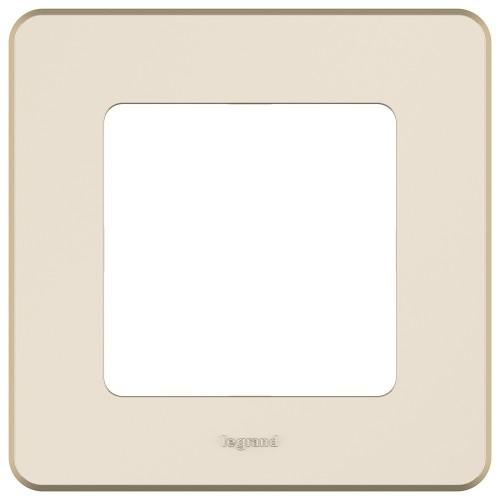 Рамка 1 пост слоновая кость Legrand Inspiria (673931)