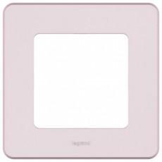 Рамка 1 пост розовый