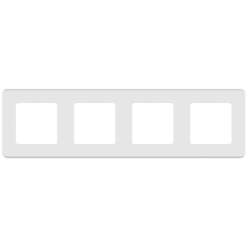 Рамка 4 поста белый Legrand Inspiria (673960)