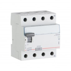 УЗО электромеханическое 4P 25A 10kA 30mA тип AC
