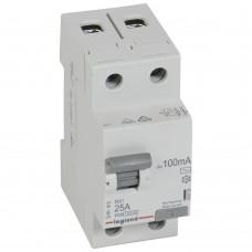 УЗО электромеханическое 2P 25A 10kA100mA тип AC
