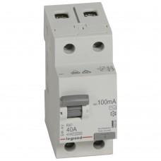 УЗО электромеханическое 2P 40A 10kA 100mA тип AC