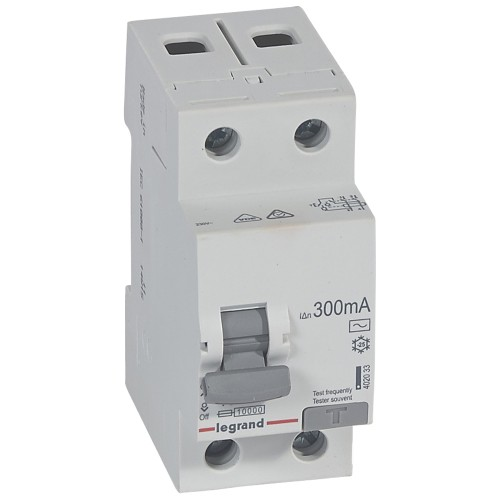 УЗО электромеханическое 2P 40A 10kA 300mA тип AC Legrand RX3 (402033)