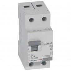 УЗО электромеханическое 2P 63A 10kA 30mA тип A