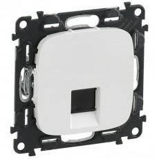 Розетка интернет (CAT5E) белая