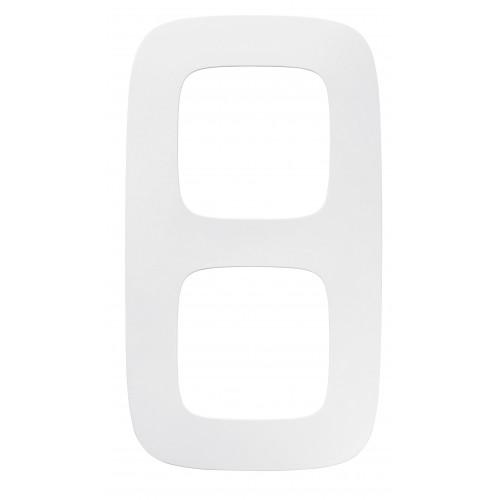 Рамка 2 поста белая Legrand Valena Allure (754302)