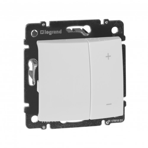 Светорегулятор кнопочный 400Вт белый Legrand Valena Classic (770062)