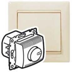 Светорегулятор 1000 Вт, (сл. кость) (без рамки)