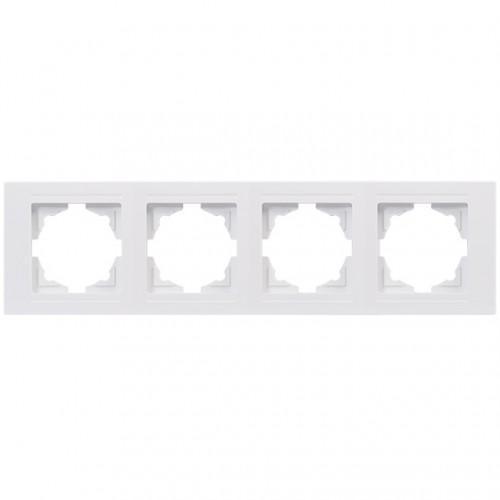 Рамка*4 белая Gunsan Moderna (01 29 11 00 000 145)
