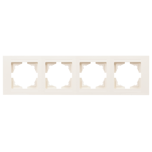 Рамка*4 кремовая Gunsan Moderna (01 29 12 00 000 145)