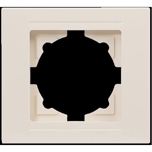 Рамка*1 кремовая Gunsan Moderna (01 29 12 00 000 140)
