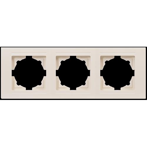 Рамка*3 кремовая Gunsan Moderna (01 29 12 00 000 143)