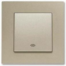 Выключатель 1-кл промежуточный (без рамки) бронза