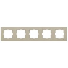 Рамка*5 универсальная бронза