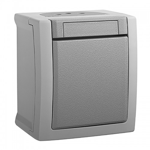 Выключатель 1-кл серый наружный Panasonic Pacific (WPTC40012GR-BY)