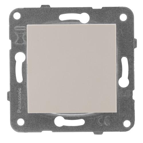 Заглушка лицевой панели кремовая Panasonic Arkedia Slim (WKTT07012BG-BY)