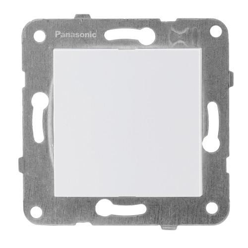 Заглушка лицевой панели белая Panasonic Arkedia Slim (WKTT07012WH-BY)