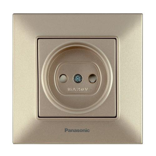 Розетка бронзовая Panasonic Arkedia Slim (WNTC02012BR-BY)