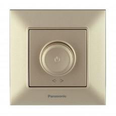 Выключатель-диммер бронзовый 6-100W