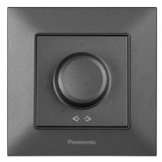 Выключатель-диммер дымчатый 6-100W