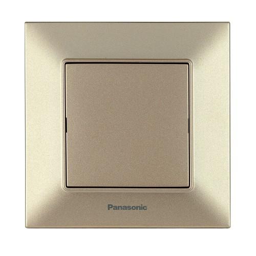 Заглушка лицевой панели бронзовая Panasonic Arkedia Slim (WNTC07012BR-BY)