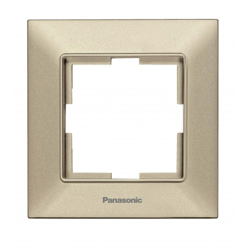 Рамка*1 бронзовая Panasonic Arkedia Slim (WNTF08012BR-BY)