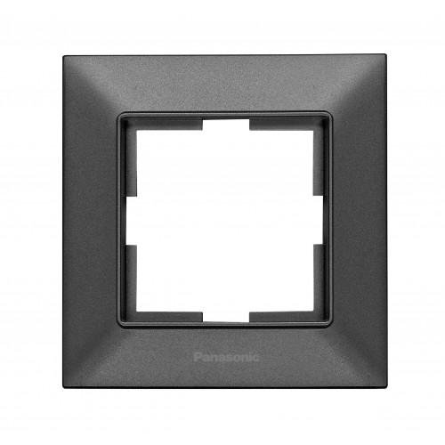 Рамка*1 дымчатая Panasonic Arkedia Slim (WNTF08012DG-BY)