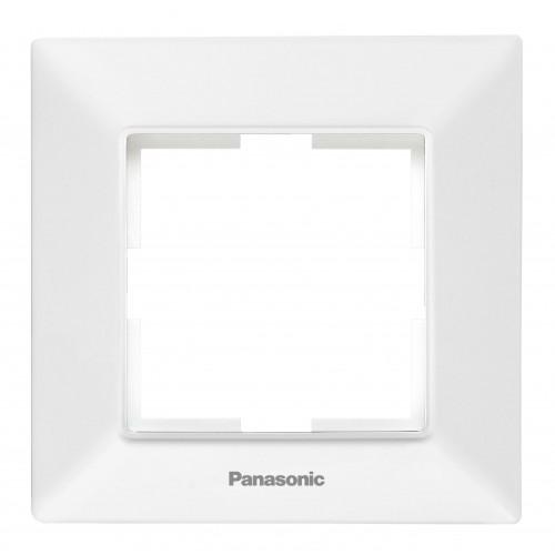 Рамка*1 белая Panasonic Arkedia Slim (WNTF08012WH-BY)