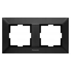 Рамка*2 универсальная черная