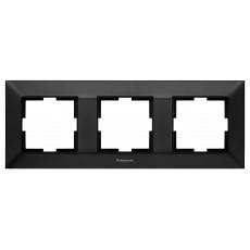 Рамка*3 универсальная черная