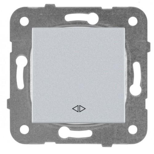 Выключатель 1-кл перекрестный серебро Panasonic Karre plus (WKTT00052SL-BY)