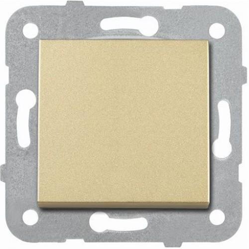 Выключатель 1-кл (без рамки) бронза Panasonic Karre plus (WKTT00012BR-BY)