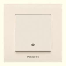 Выключатель 1-кл перекрестный (без рамки) кремовый