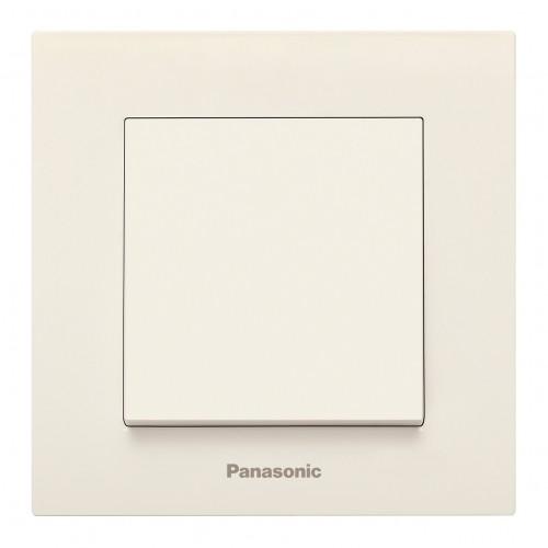 Выключатель 1-кл кремовый Panasonic Arkedia Slim (WKTT00012BG-BY)