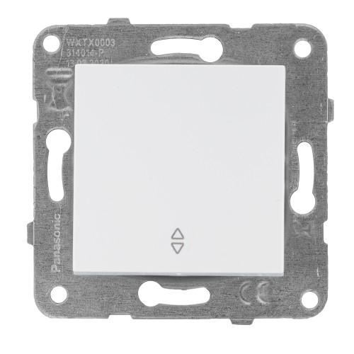 Выключатель 1-кл проходной белый Panasonic Arkedia Slim (WKTT00032WH-BY)