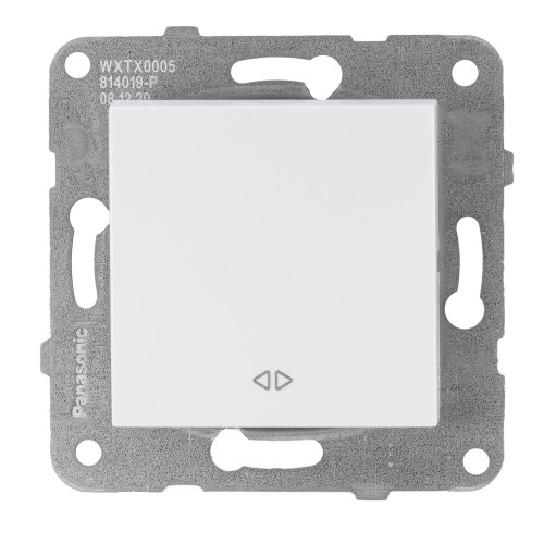 Выключатель 1-кл перекрестный белый Panasonic Arkedia Slim (WKTT00052WH-BY)