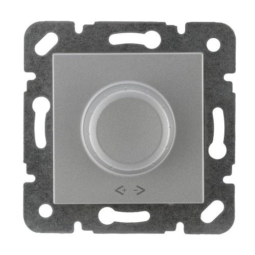Светорегулятор RLC 30-300 Вт (без рамки) серебро Panasonic Karre plus (WKTT05242SL-BY)