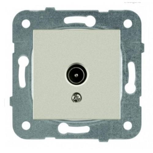 Розетка ТВ без сопротивления (без рамки) бронза Panasonic Karre plus (WKTT04542BR-BY)