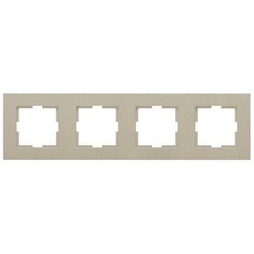 Рамка 4-постовая бронза Panasonic Karre plus (WKTF08042BR-BY)