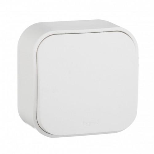 Кнопка 1-кл белая наружный Legrand Quteo (782205)