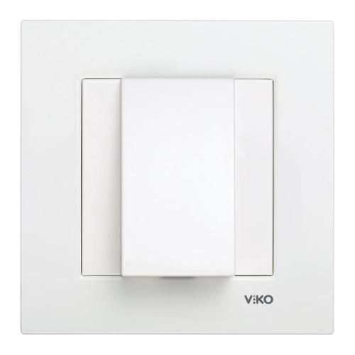 Вывод кабеля белый Viko Karre (90960077)