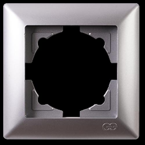 Рамка*1 серебро  Gunsan Visage (01281500-000140)