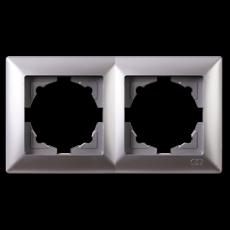 Рамка*2 серебро