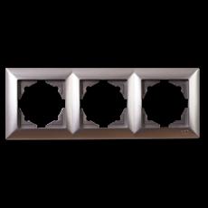 Рамка*3 серебро