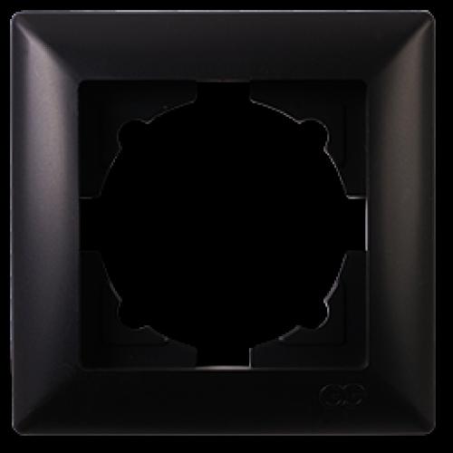 Рамка*1 черная  Gunsan Visage (01283400-000140)