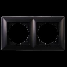 Рамка*2 черная