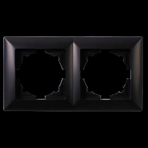 Рамка*2 черная  Gunsan Visage (01283400-000141)
