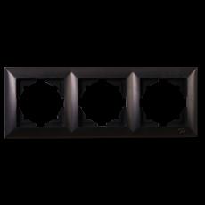 Рамка*3 черная