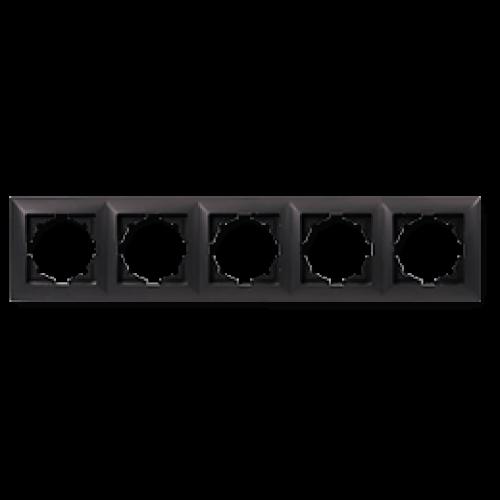 Рамка*5 черная  Gunsan Visage (01283400-000146)